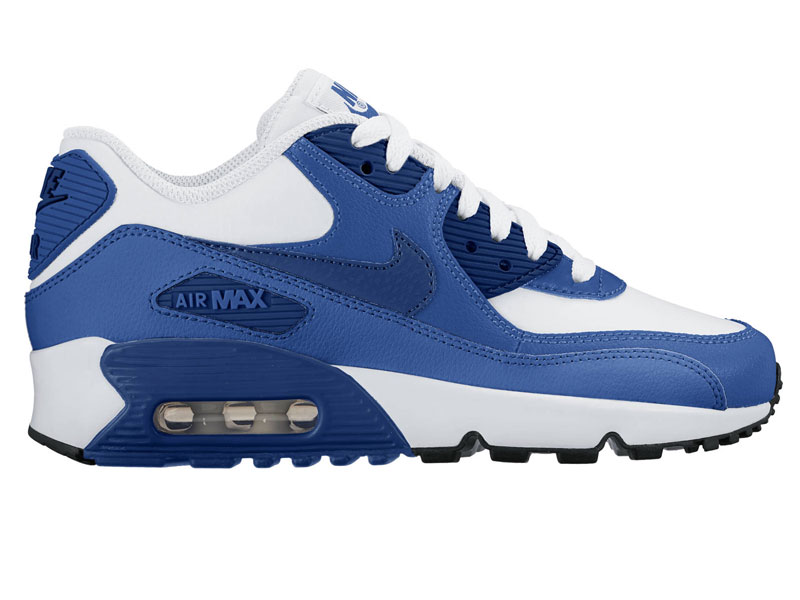 nike air max 90 1 2016 command mesh leather gs sneaker. Black Bedroom Furniture Sets. Home Design Ideas